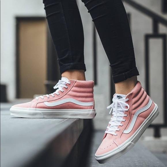 Vans Shoes | Vans Sk8hi Slim Pink Mauve